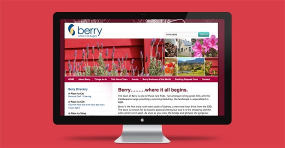 Berry Chamber of Commerce & Tourism website