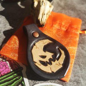 porte-clé lune de samhain