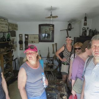 V Márianosztre sme si ešte pozreli dom ľudových tradícií.