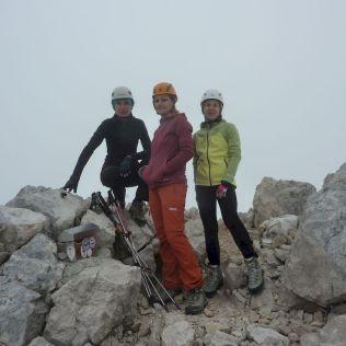 A už stojíme na vytúženom vrchole - Koroške (Kríž).
