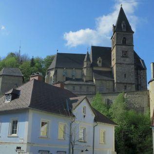 Opevnený kostol Sv. Oswalda.