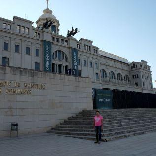 Vstupná brána do Olympijského štadióna.