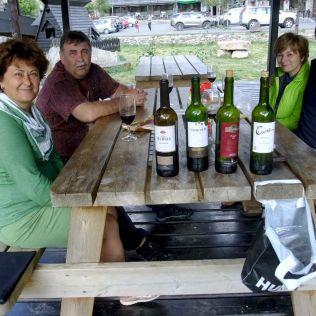 ... malú ochutnávku miestnych vín!