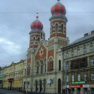Synagóga, najväčšia v Európe.