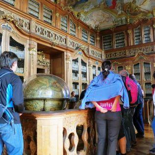 Historická knižnica olomouckých biskupov a arcibiskupov.