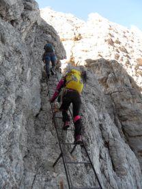 Rebríky nám pomáhajú prekonávať výšku čo najrýchlejšie.