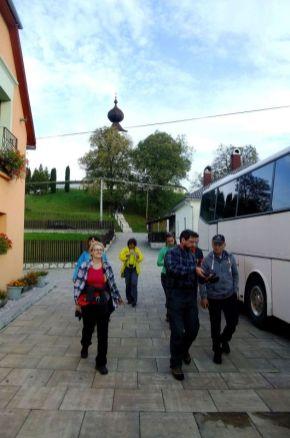 Po návšteve a výklade kostola v Žehre.