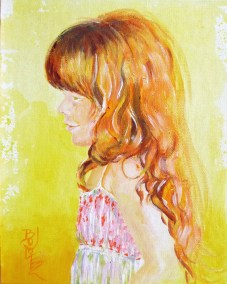 Erin-at-5-years-Acrylic-30x26-Private-Collection