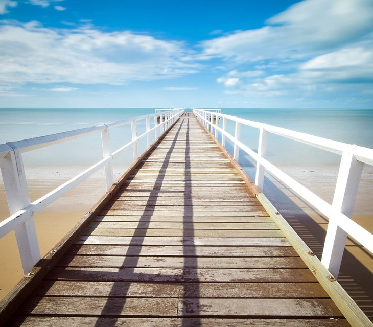 Picture of a pier over water