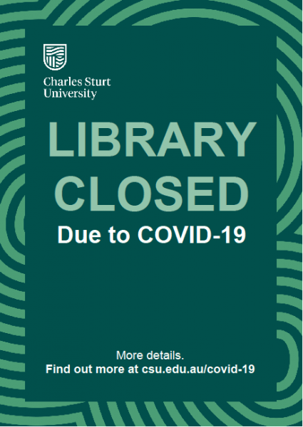 Library closed image