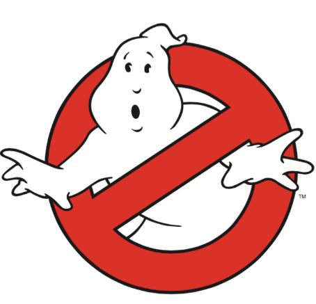 Logo of Ghostbusters films