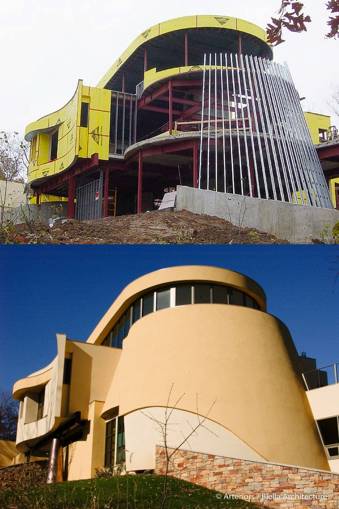 Construction During and After