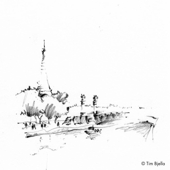 Tim Bjella Sketches - Paris, France