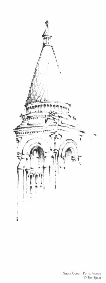 Sacre Coeur Campanile, Paris