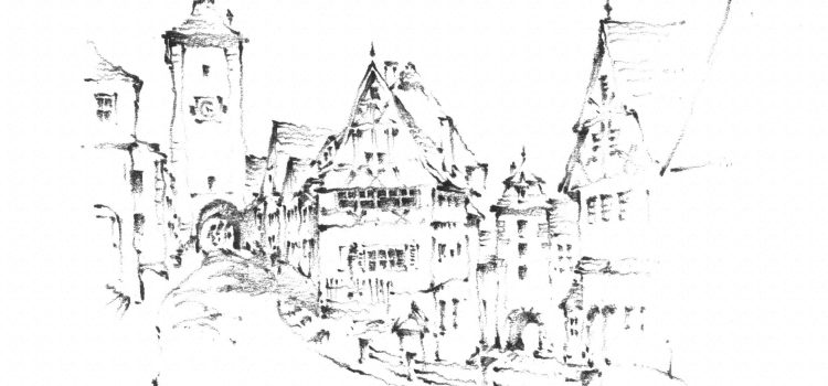 Rothenburg via Pencil