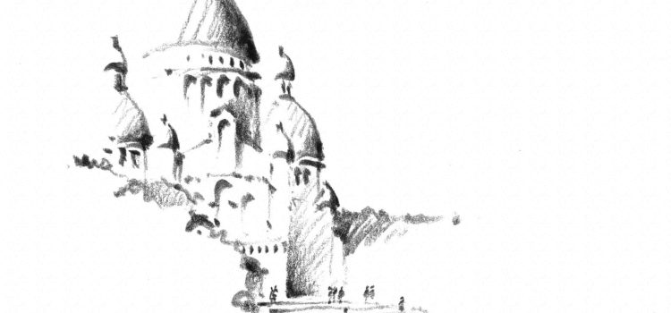 Sketchbreak – Sacre Coeur, Paris