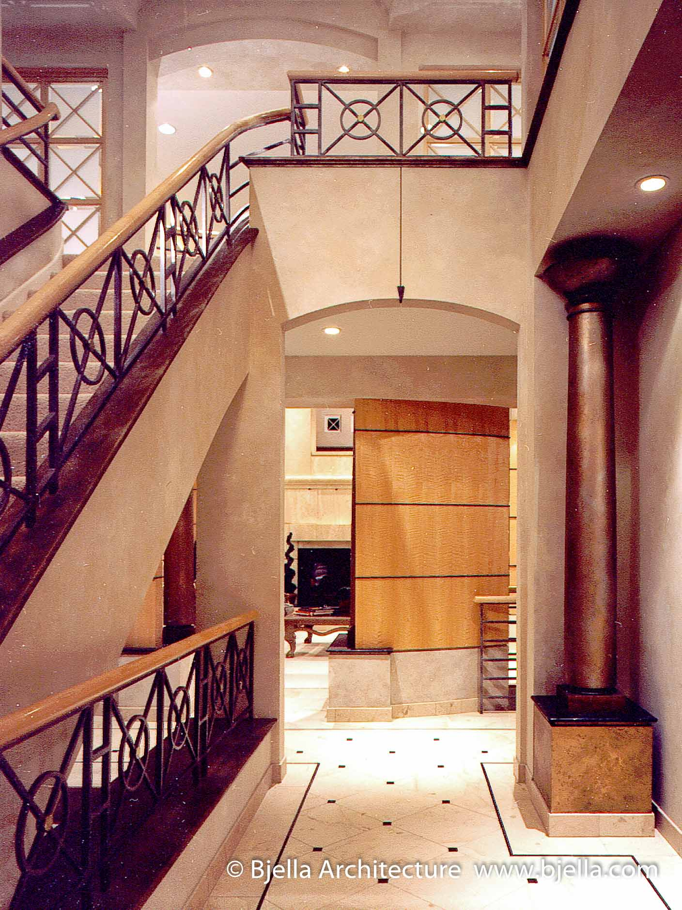 Before and After Remodeling - Foyer After