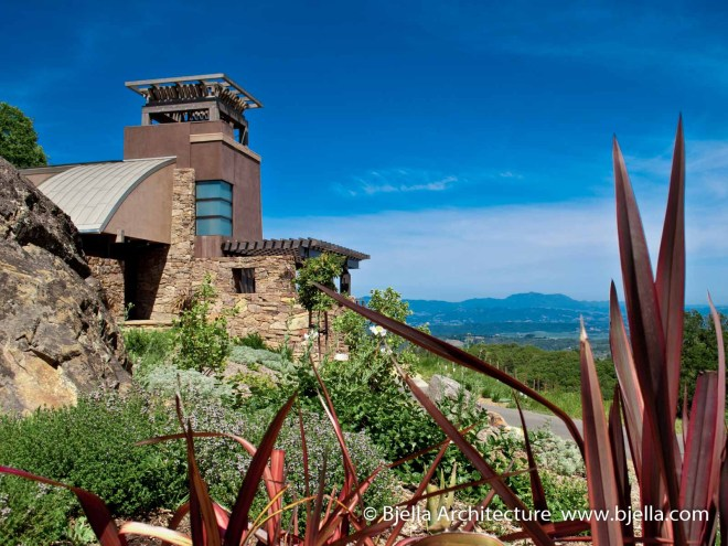 Bjella Architects Sonoma California Tower