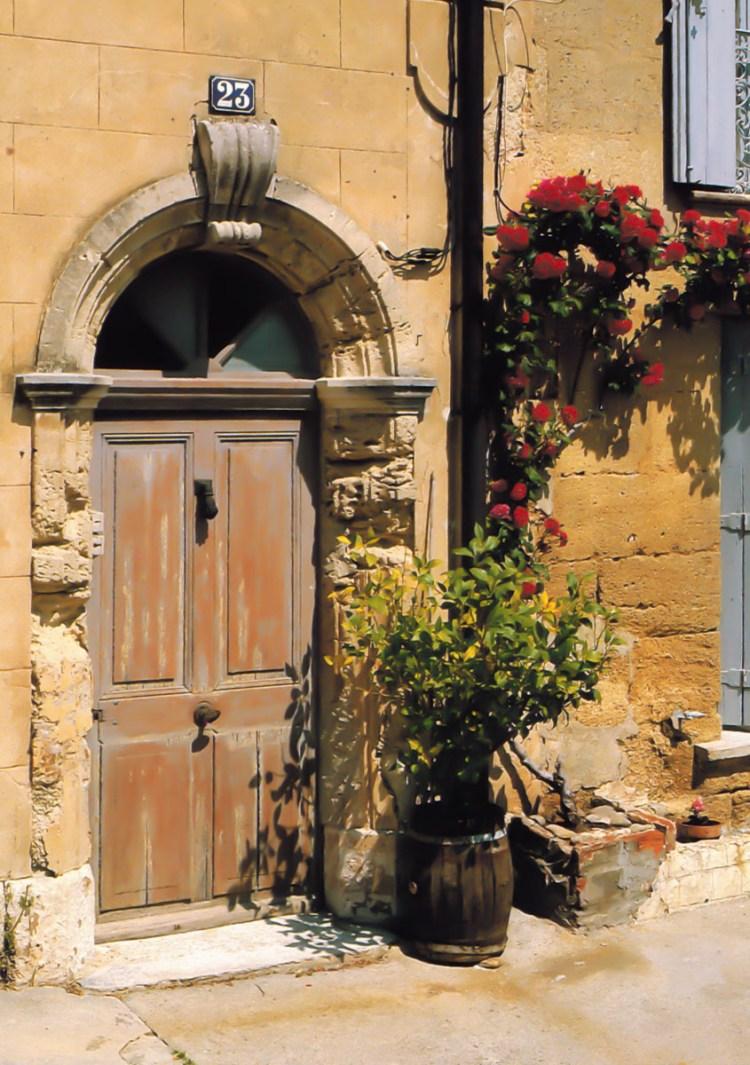Door in Provence, France