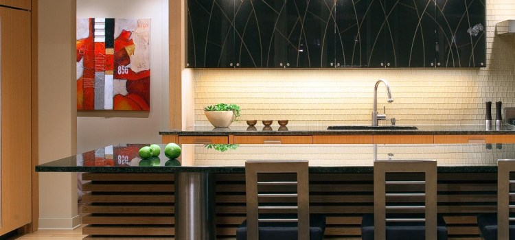Modern Zen Kitchen Design in Minneapolis, Minnesota