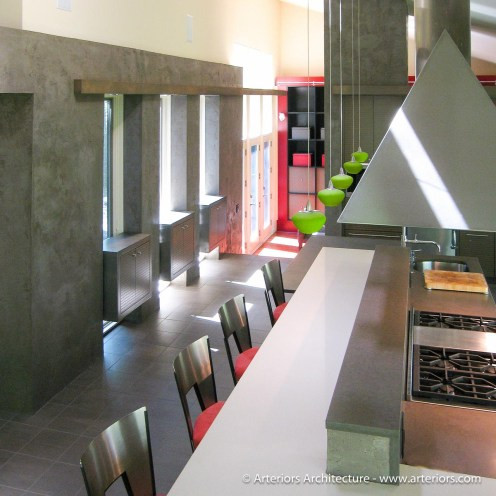 Modern Vent Hood for Kitchen by Arteriors Architects