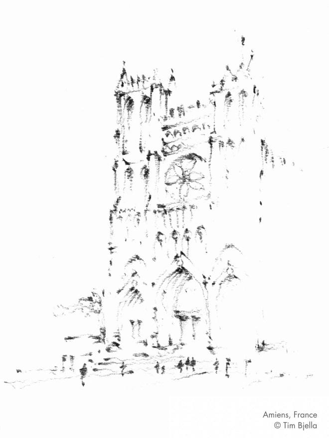Tim Bjella Sketches - Amiens, France