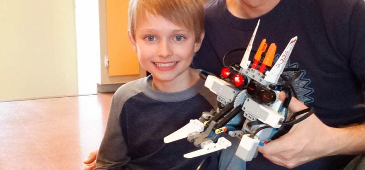 We Built Robots. That Battle. Out ofLegos