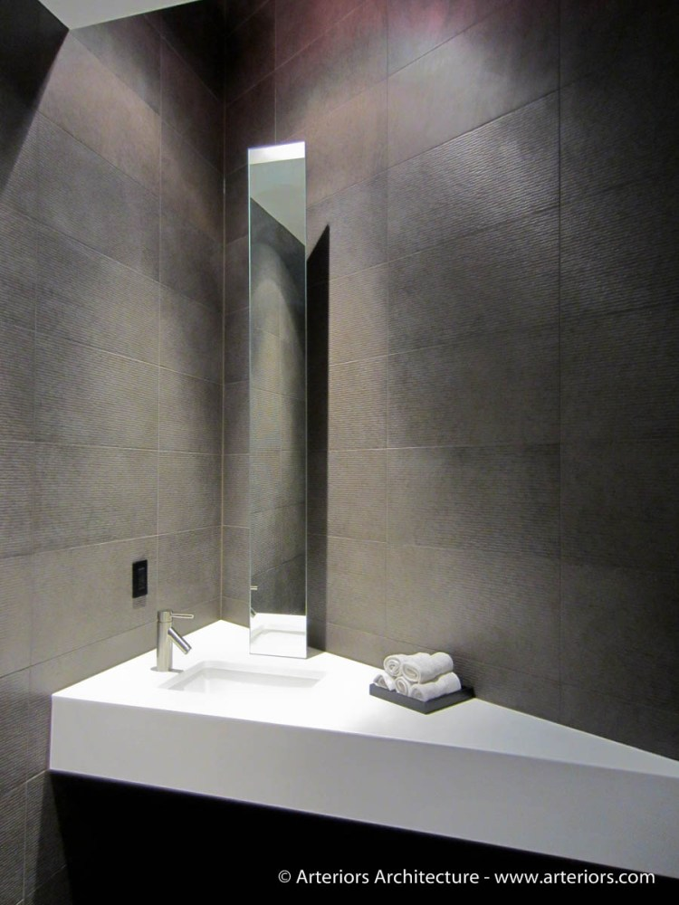 Minimal Bathroom Vanity - Arteriors Architects - Tim Bjella
