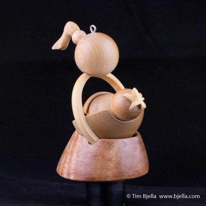 Snowman Ornament 2006 by Tim Bjella