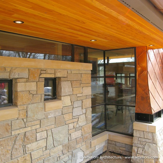 Modern House Window Detail Arteriors Architects-1