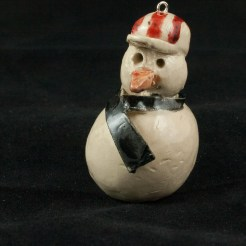 Bjella Snowman Ornament - Dad-23