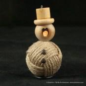 Bjella Snowman Ornament - Day 11 - Rope-10