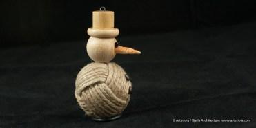 Bjella Snowman Ornament - Day 11 - Rope-12