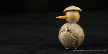 Bjella Snowman Ornament - Day 11 - Rope-14