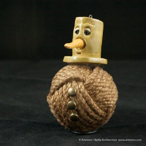 Bjella Snowman Ornament - Day 11 - Rope-15