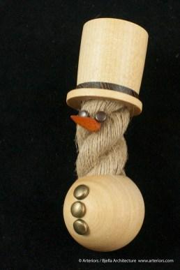 Bjella Snowman Ornament - Day 11 - Rope-20