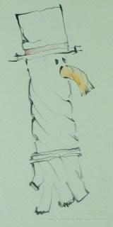 Bjella Snowman Ornament - Day 11 - Rope-29