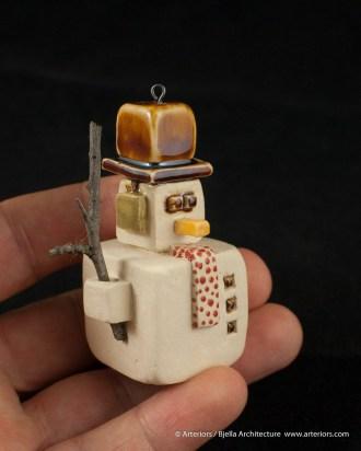 Bjella Snowman Ornament - Day 12 - Tectonic-108