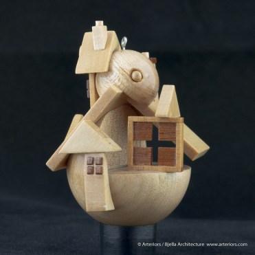 Bjella Snowman Ornament - Day 12 - Tectonic-19