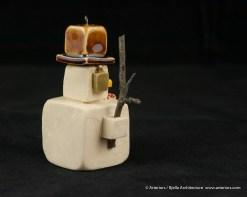 Bjella Snowman Ornament - Day 12 - Tectonic-62