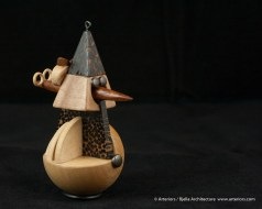 Bjella Snowman Ornament - Day 12 - Tectonic-71