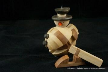 Bjella Snowman Ornament - Day 13 - Puzzle-12
