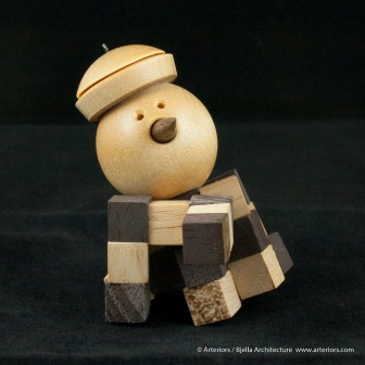 Bjella Snowman Ornament - Day 13 - Puzzle-26