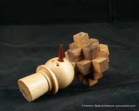 Bjella Snowman Ornament - Day 13 - Puzzle-43