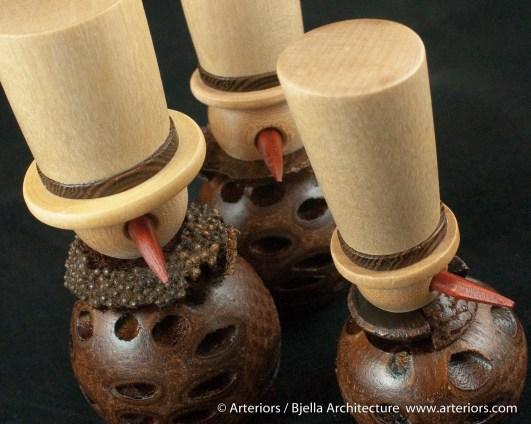 Bjella Snowman Ornament - Day 4 - Banksia Nuts-17