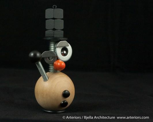 Bjella Snowman Ornament - Day 6 - Metal-13