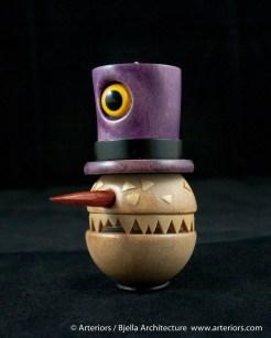 Bjella Snowman Ornament - Day 8 - Monsters-35