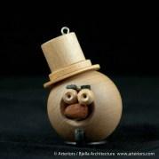 Bjella Snowman Ornament - Day 8 - Monsters-42