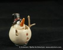 Bjella Snowman Ornament - Day 9 - Cutesy-20