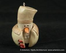 Bjella Snowman Ornament - Day 9 - Cutesy-22